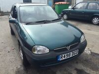Cheap car of the day, Vauxhall Corsa, starts and drives, MOT until 26th July, car located in Gravese