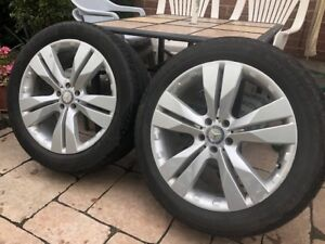 """Mercedes 20"""" Rims and Tires"""