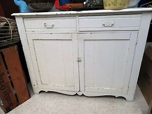 Antique Country Kitchen Cupboard