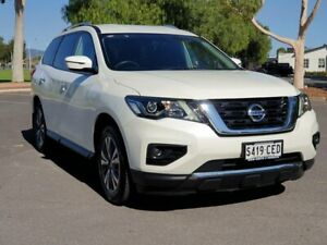 2017 Nissan Pathfinder R52 Series II MY17 ST X-tronic 2WD White 1 Speed Constant Variable Wagon Prospect Prospect Area Preview