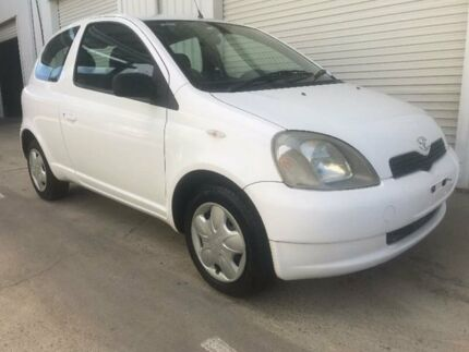 2003 Toyota Echo NCP10R White 4 Speed Automatic Hatchback Kippa-ring Redcliffe Area Preview