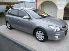 2012 Hyundai i30 FD MY12 CW SX 1.6 CRDi Grey 4 Speed Automatic Wagon South Nowra Nowra-Bomaderry Preview