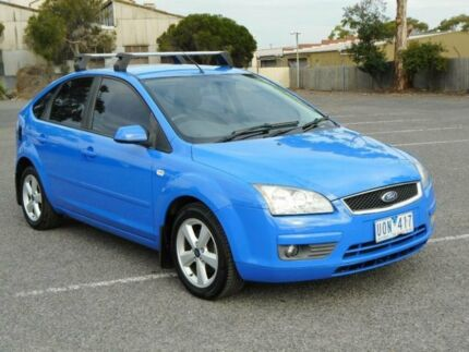 2006 Ford Focus LS LX Blue 5 Speed Manual Hatchback Maidstone Maribyrnong Area Preview