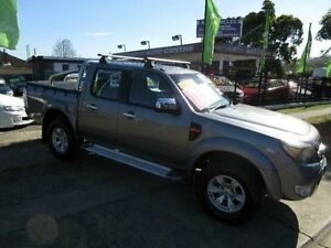 2010 Ford Ranger PK XLT (4x4) Grey 5 Speed Manual Dual Cab Pick-up New Lambton Newcastle Area Preview