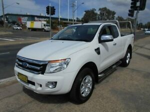 2015 Ford Ranger PX XLT Super Cab White 6 Speed Sports Automatic Utility Fyshwick South Canberra Preview
