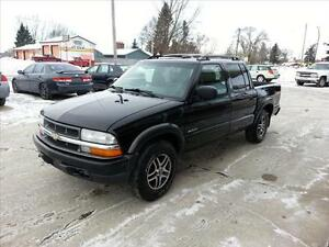 2003 Chevrolet S-10 zr2 crew cab PARTING OUT