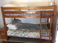 Bunkbed, solid pine, Oxford