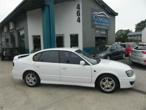 2001 Subaru Liberty MY01 RX White 4 Speed Automatic Sedan Earlville Cairns City Preview
