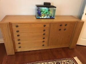 Princeville Solid Wood Dresser and Armoire + Night tables