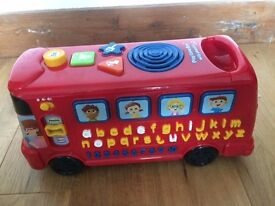 Toy bus with Phonics