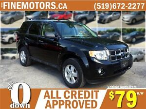 2011 FORD ESCAPE XLT * LEATHER * USB * FINANCE THIS ESCAPE