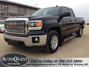 2014 GMC Sierra 1500 SLE 4x4 Double Cab - Accident Free!