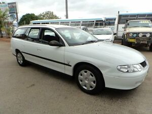 2001 Holden Commodore VX II Executive White 4 Speed Automatic Wagon North St Marys Penrith Area Preview