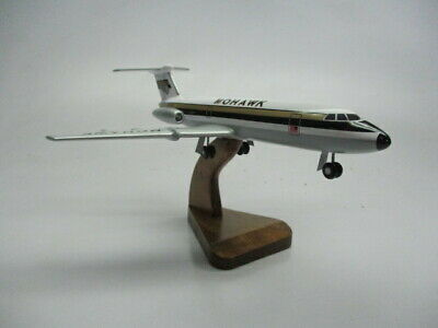 BAC-111 Mohawk Airlines Airplane Desk Wood Model Regular New Free Shipping (Airlines Bac 111 Model)