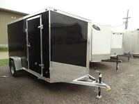 All aluminum enclosed trailer with ramp. $55/payment