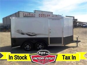 New 2020 - 7' X 15' CargoMate Low Rider Motorcycle Trailer