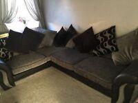 Dfs Shannon corner sofa . Delivered