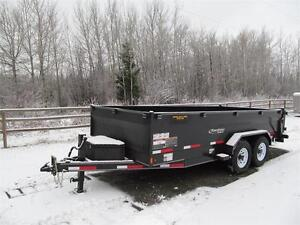 BLOW OUT !!  16' EXCURSION DUMP TRAILER Prince George British Columbia image 1