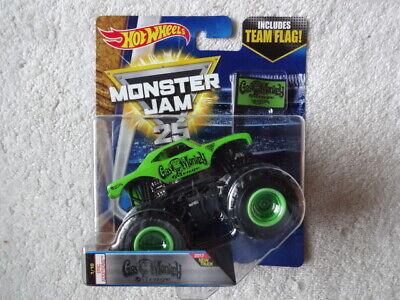 Hot Wheels Monster Jam Gas Monkey Garage With Team Flag