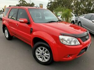 2012 Ford Escape ZD MY10 Red 4 Speed Automatic Wagon East Bunbury Bunbury Area Preview