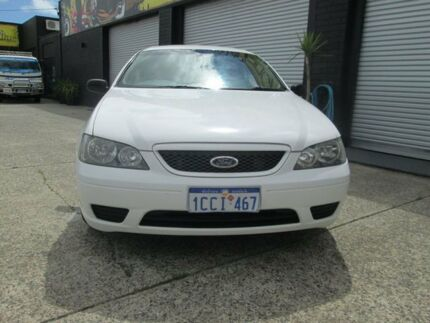 2005 Ford Falcon BA XT White 4 Speed Auto Active Select Sedan O'Connor Fremantle Area Preview