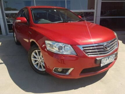 2009 Toyota Aurion GSV40R Prodigy Red 6 Speed Sports Automatic Sedan Ravenhall Melton Area Preview