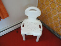 Shower Chair with Back Support