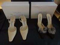 Two Pairs of Jimmy Choo Shoes UK 6 (Euro 39) *Look* Beautiful