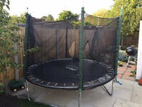 8FT Plum Trampoline