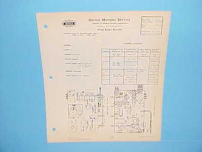 1938 UNITED MOTORS DELCO HOME RADIO SERVICE REPAIR MANUAL 6 VOLT DC
