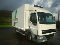 2006 Daf LF45 4x2 7.5Tonne Fridge Body