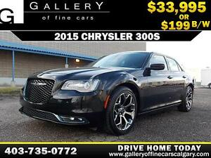 2015 Chrysler 300S $199 bi-weekly APPLY NOW DRIVE NOW