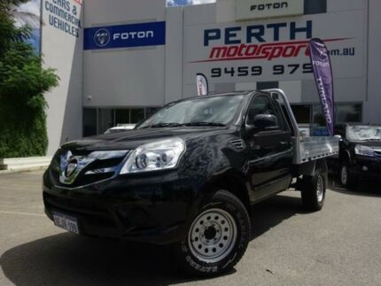 2014 Foton Tunland P201 Launch Edition (4x4) Black 5 Speed Manual C/Chas Tray Beckenham Gosnells Area Preview