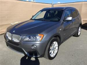 2013 BMW X3, ONLY 32k KM!! Navi, B.up camera, Comfort Access
