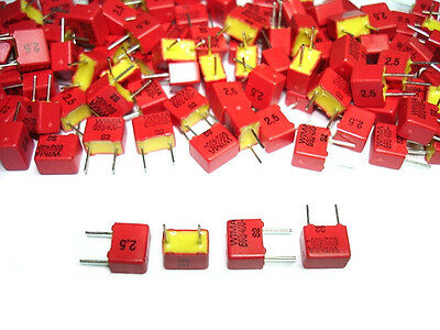 25pack Wima 680pf 400v 2.5 Fkp-2 Tube Amp Amplifier Capacitors New