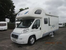 2009 ACE ROMA 4 BERTH FIXED BED MOTORHOME WITH LARGE REAR GARAGE ANDERSON MOTORHOME SALES
