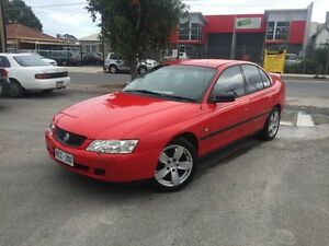 2002 Holden Commodore VY Executive Sting Red 4 Speed Automatic + O/Drive Sedan Somerton Park Holdfast Bay Preview