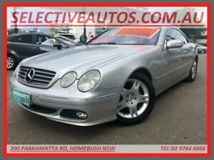 2003 Mercedes-Benz CL500 C215 Silver 5 Speed Auto Tipshift Coupe Homebush Strathfield Area Preview