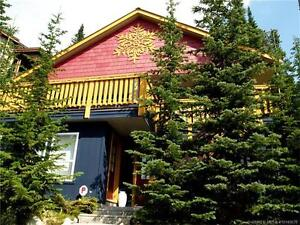 Free standing chalet nestled among the pines