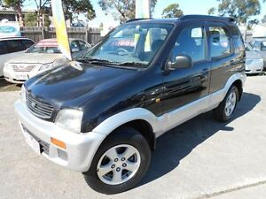 1998 Daihatsu Terios SX (4x4) Black 4 Speed Automatic 4x4 Wagon Maidstone Maribyrnong Area Preview