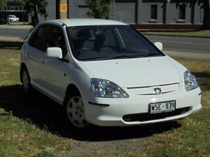 2002 Honda Civic 7TH GEN VI White 4 Speed Automatic Hatchback Albert Park Charles Sturt Area Preview