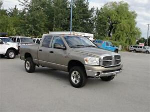 2008 DODGE RAM 2500 SLT CREW CAB SHORT BOX 4X4 HEMI