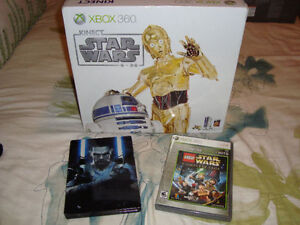 XBOX 360 LIMITED EDITION STAR WARS + GAMES