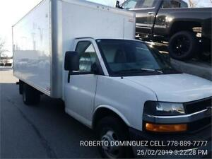 2017 Chevrolet Express Commercial Cutaway 16 FT BOX RAMP