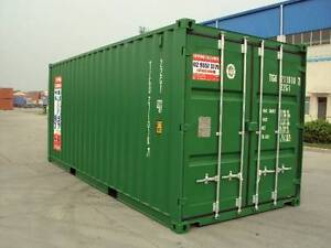 20ft GP New Build Shipping Containers Tempe Marrickville Area Preview