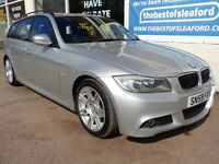 BMW 318 2.0 Touring auto 2009 i M Sport Business Edition £4110 added extras P/X
