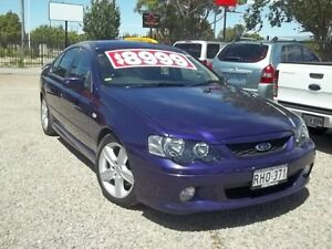 2003 Ford Falcon BA XR6 Phantom Purple 4 Speed Sports Automatic Sedan Murray Bridge Murray Bridge Area Preview