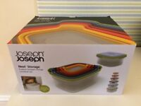 Joseph Joseph Nest Storage - 6 food containers - NEW BOXED
