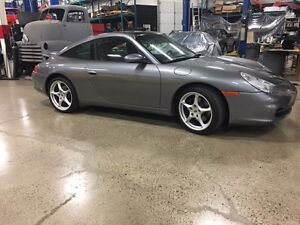 2002 Porsche 911 Targa Fully Retractable Glass Roof and Others