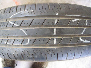 One Goodyear Integrity P235/60R16 Used Tire